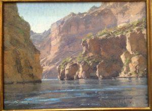 """Matt Smith """"Canyon Lake Cliffs"""""""