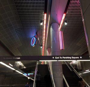 Metro Redline to Pershing Square