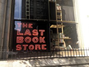 The Last Bookstore Neon Sign
