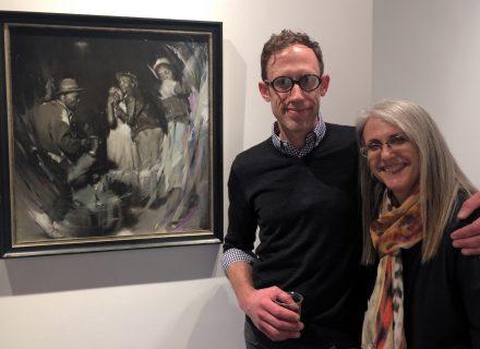 Adam Vinson and Linda Wehrli