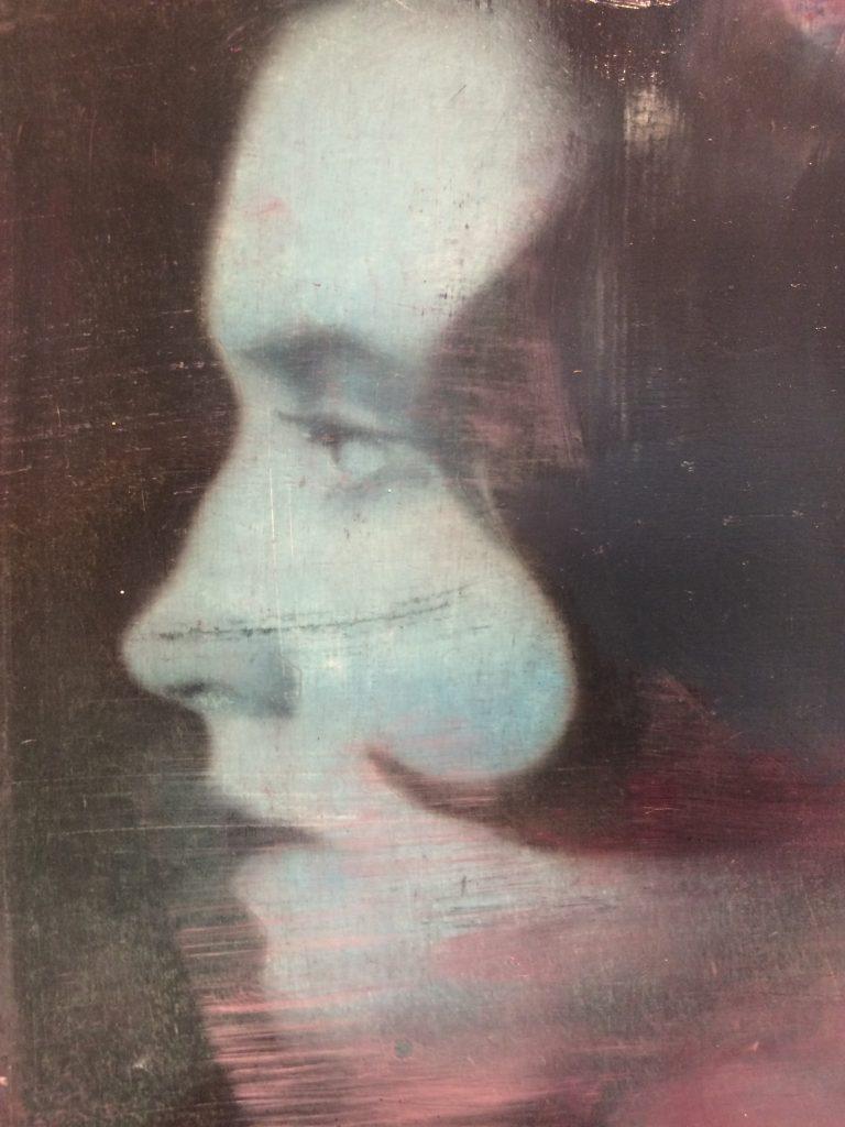 "Adam Vinson - ""Ik-Ook North Star"" - Oil on Panel - 9 x 6 inches"