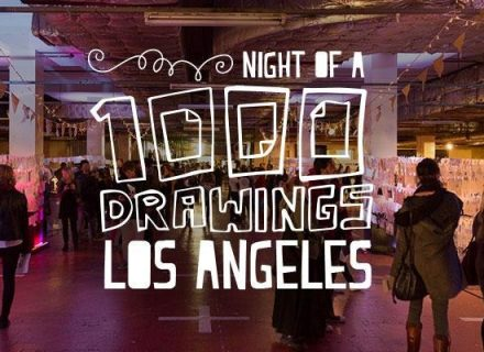 Night of a 1000 Drawings LA
