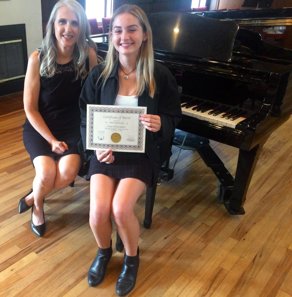 Adela M. and Linda Wehrli, 2018 May Student Piano Concert, Pastimes for a Lifetime