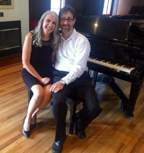 Linda and Barry Wehrli at the 2018 May Pastimes for a Lifetime Student Piano Concert