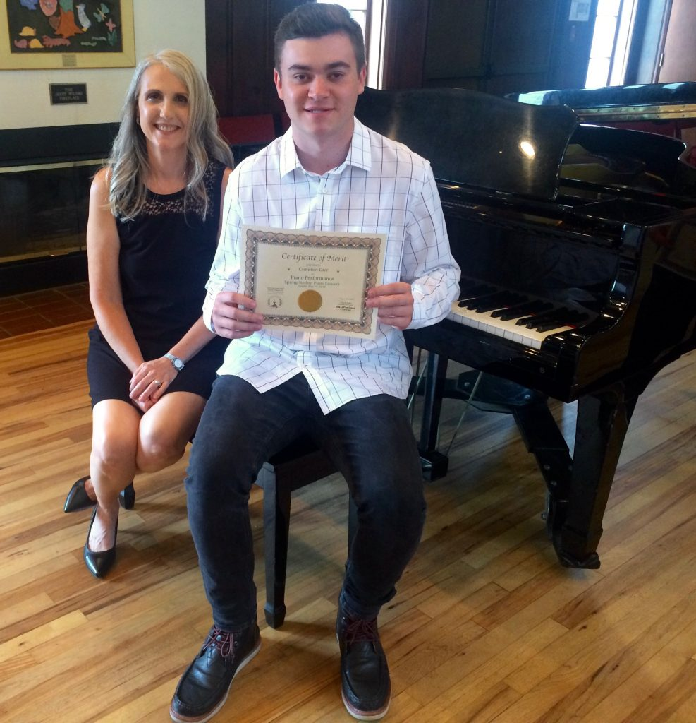 Cameron C. and Linda Wehrli, 2018 May Student Piano Concert, Pastimes for a Lifetime
