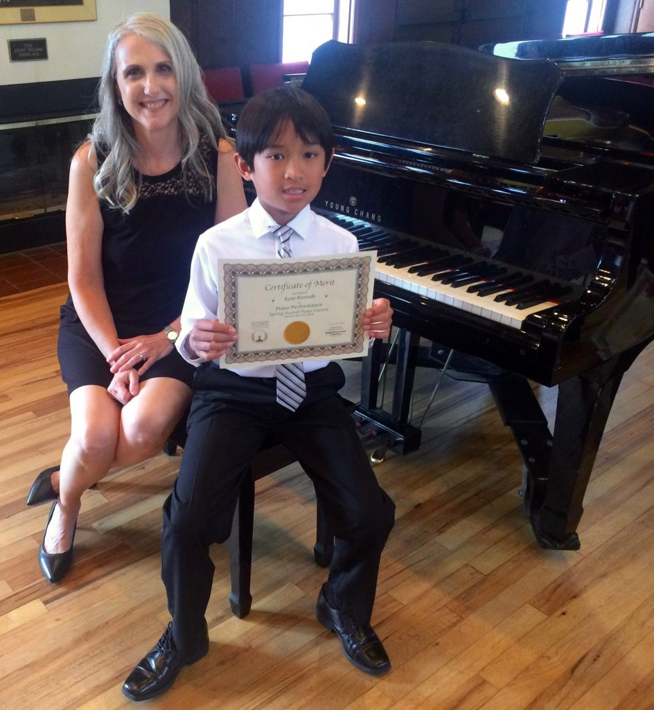 Ryan B. and Linda Wehrli, 2018 May Student Piano Concert, Pastimes for a Lifetime
