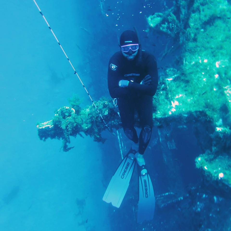 Leonardon Barilaro, Free-Diving