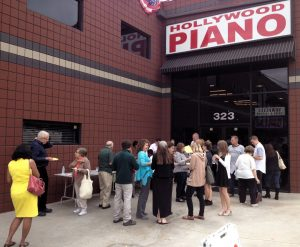 Pastimes Concert at Hollywood Pianos
