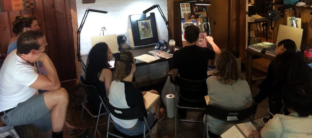 Aaron Westerberg Demo + Workshop at Pastimes for a Lifetime
