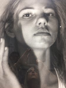 """""""Stain (Affect)"""" by Annie Murphy Robinson - Face Close-Up"""